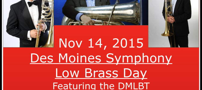 Des Moines Low Brass Day Fall 2015