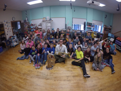 Lincoln, Mt. Pleasant, music, education, SEISO, trombone, euphonium