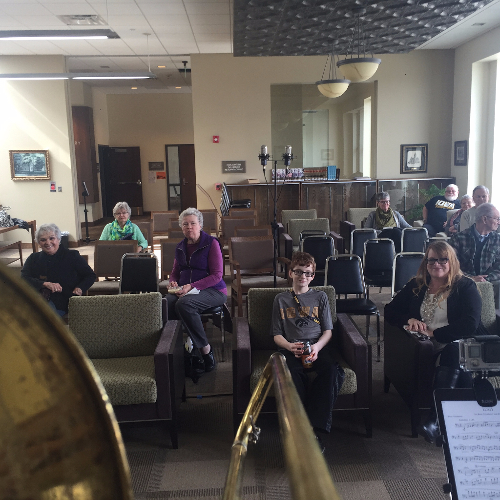 recital, washington, library, seiso, bass trombone,