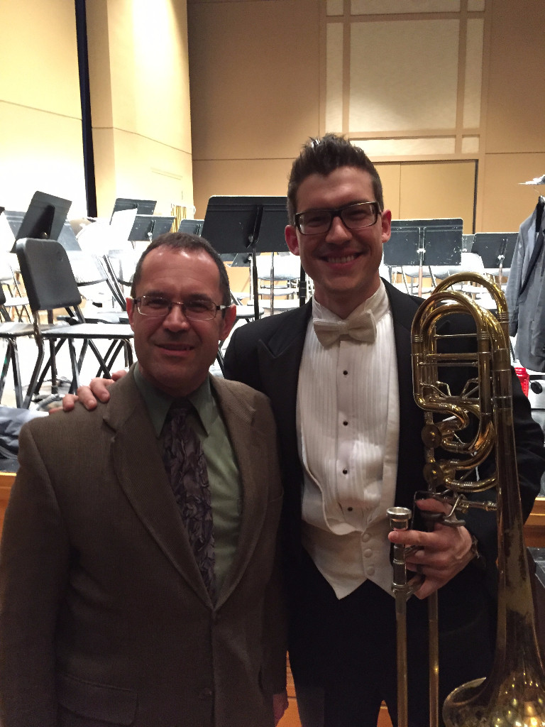 After the Mt. Pleasant performance with SEISO board member Mark Kimzey.