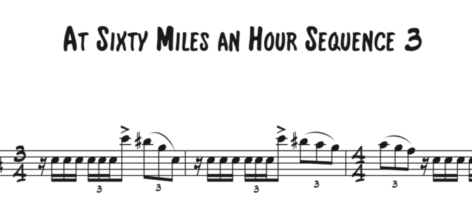 At Sixty Miles an Hour Sequence 3