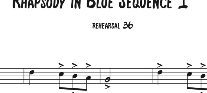 Rhapsody in Blue Sequence 1