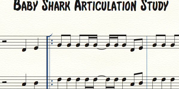 Baby Shark Articulation Sequence