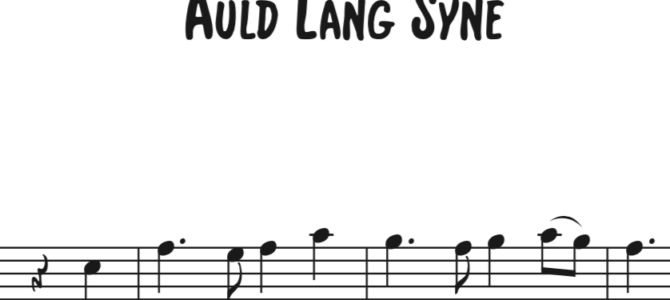 Auld Lang Syne Sequence