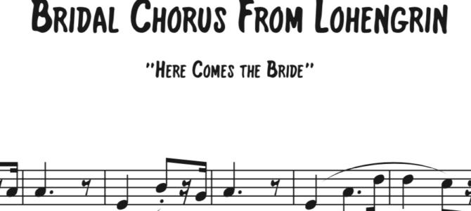 Wagner – Lohengrin Bridal Chorus Sequence