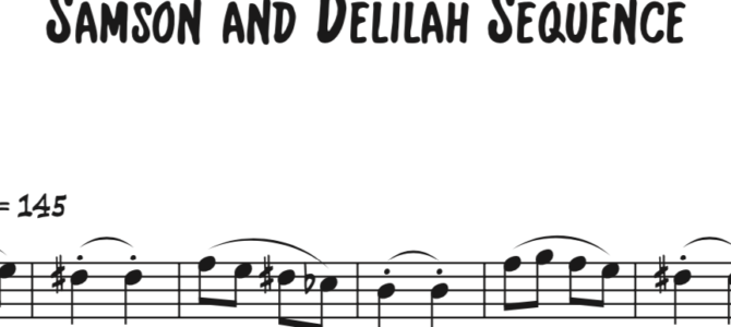 Saint-Saens – Samson and Delilah Sequence